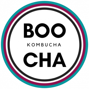 BOO-CHA Boo Cha Kombucha Logo